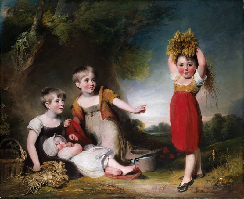 William Owen - The Grandchildren of Sir William Heathcote. Metropolitan Museum: part 4