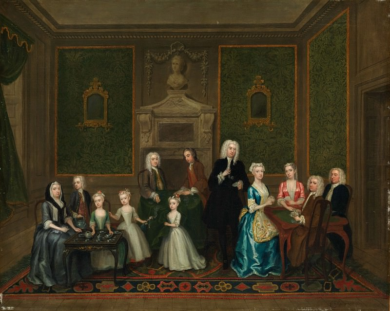 Charles Philips - The Strong Family. Metropolitan Museum: part 4