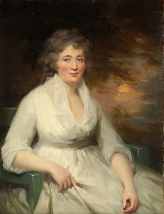 Sir Henry Raeburn - Janet Law. Metropolitan Museum: part 4