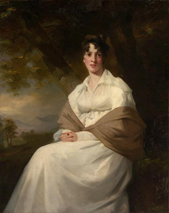 Sir Henry Raeburn - Lady Maitland (Catherine Connor, died 1865). Metropolitan Museum: part 4