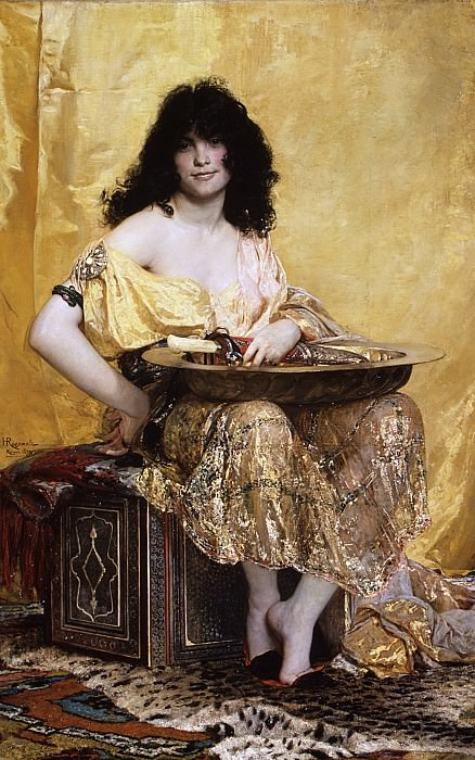 Henri Regnault - Salomé. Metropolitan Museum: part 4
