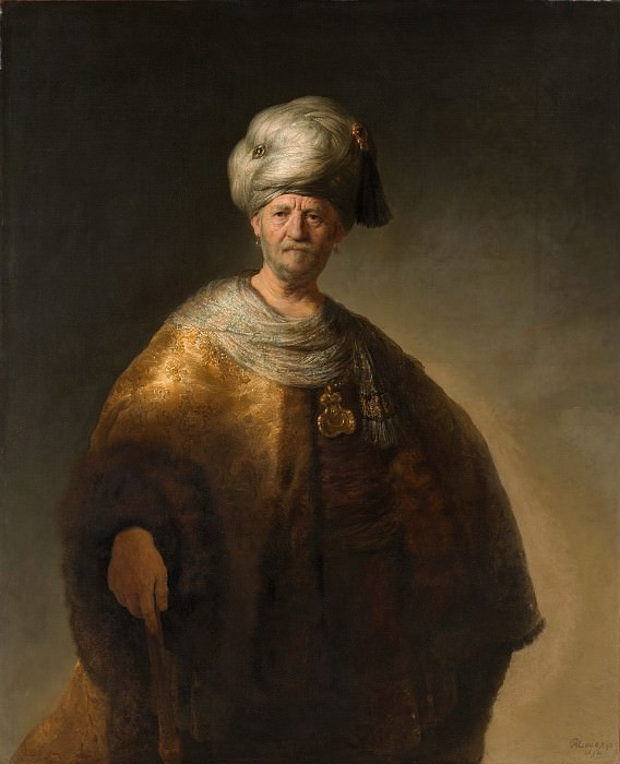 Rembrandt (Dutch, Leiden 1606–1669 Amsterdam) - Man in Oriental Costume (The Noble Slav). Metropolitan Museum: part 4