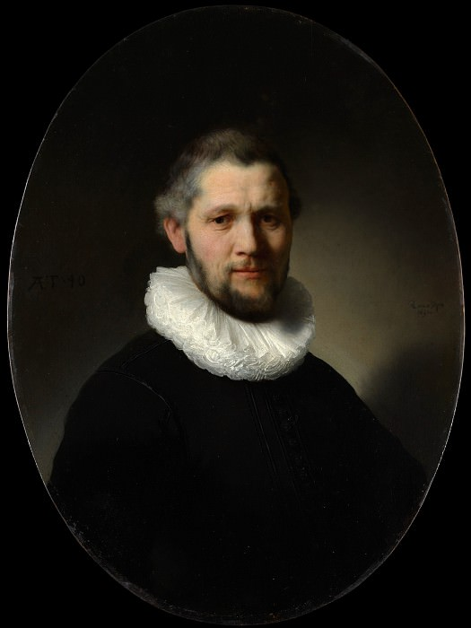 Rembrandt (Dutch, Leiden 1606–1669 Amsterdam) - Portrait of a Man (attr). Metropolitan Museum: part 4