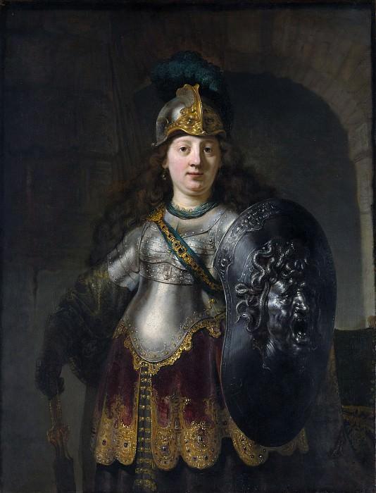 Rembrandt (Dutch, Leiden 1606–1669 Amsterdam) - Bellona. Metropolitan Museum: part 4