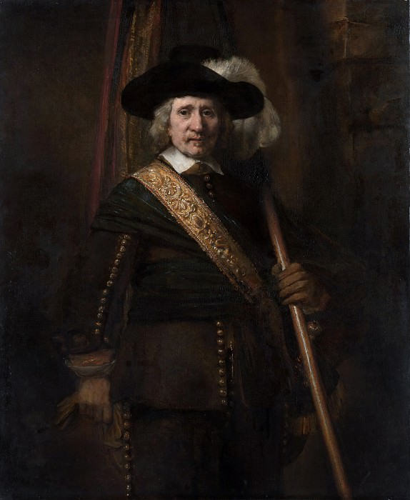 Rembrandt (Dutch, Leiden 1606–1669 Amsterdam) - The Standard Bearer (Floris Soop, 1604–1657). Metropolitan Museum: part 4