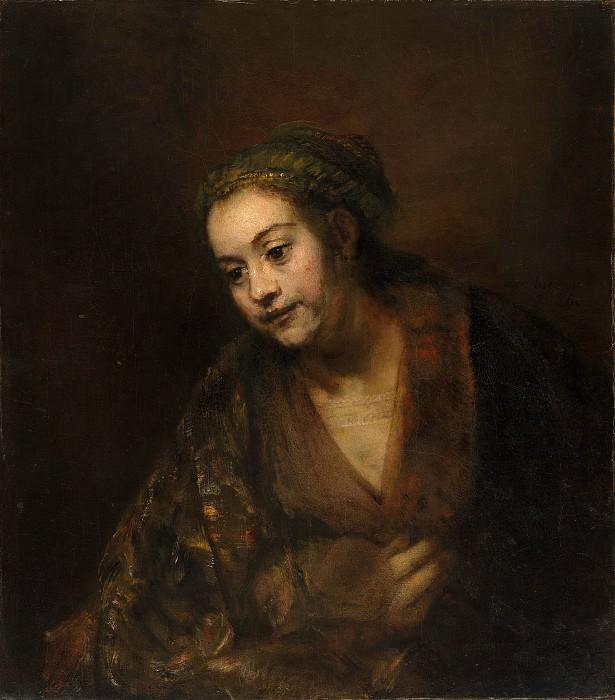 Hendrickje Stoffels (1626–1663). Rembrandt Harmenszoon Van Rijn