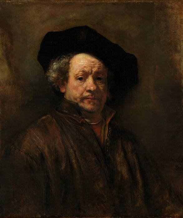 Rembrandt (Dutch, Leiden 1606–1669 Amsterdam) - Self-portrait. Metropolitan Museum: part 4