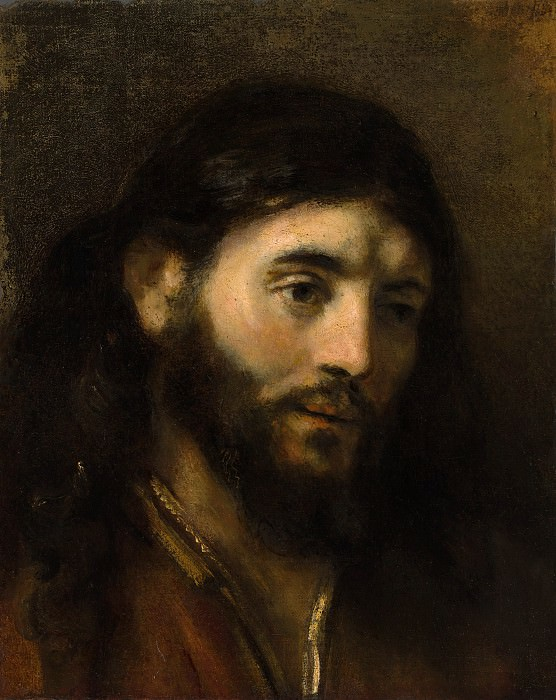 Style of Rembrandt - Head of Christ. Metropolitan Museum: part 4