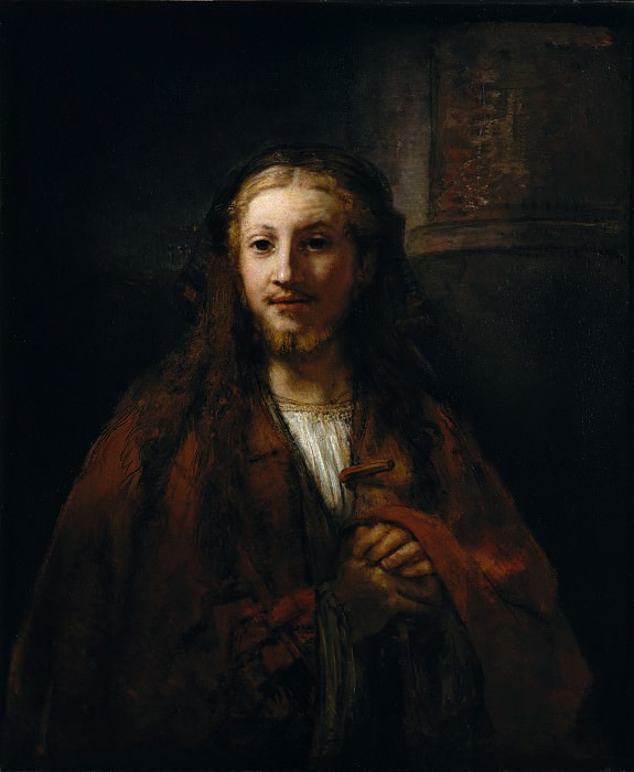 Follower of Rembrandt - Christ with a Staff. Metropolitan Museum: part 4