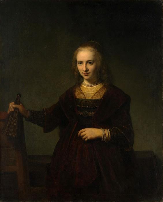 Style of Rembrandt - Portrait of a Woman. Metropolitan Museum: part 4