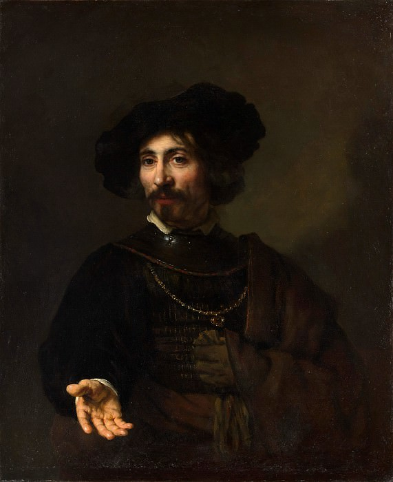 Style of Rembrandt - Man with a Steel Gorget. Metropolitan Museum: part 4