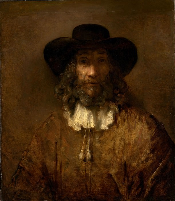 Style of Rembrandt - Man with a Beard. Metropolitan Museum: part 4