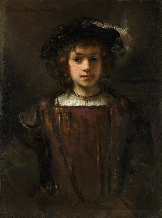 Style of Rembrandt - Rembrandt's Son Titus (1641–1668). Metropolitan Museum: part 4