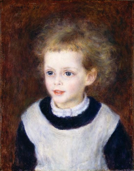 Auguste Renoir - Marguerite-Thérèse (Margot) Berard (1874–1956). Metropolitan Museum: part 4
