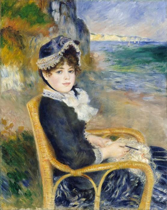 Auguste Renoir - By the Seashore. Metropolitan Museum: part 4