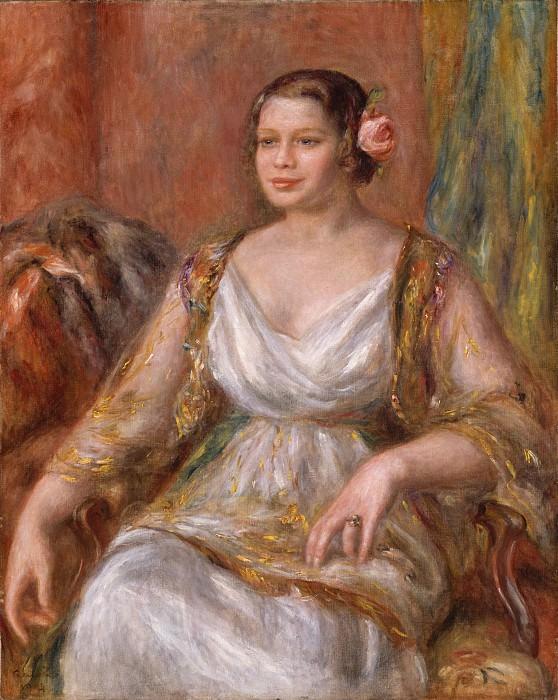 Auguste Renoir - Tilla Durieux (Ottilie Godeffroy, 1880–1971). Metropolitan Museum: part 4