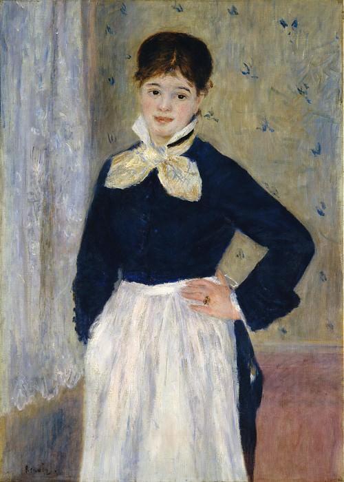 Auguste Renoir - A Waitress at Duval's Restaurant. Metropolitan Museum: part 4