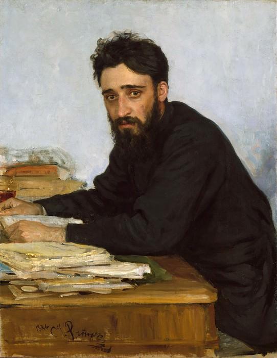 Ilia Efimovich Repin - Vsevolod Mikhailovich Garshin (1855–1888). Metropolitan Museum: part 4