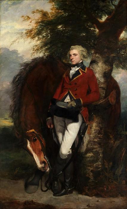 Sir Joshua Reynolds - Captain George K. H. Coussmaker (1759–1801). Metropolitan Museum: part 4