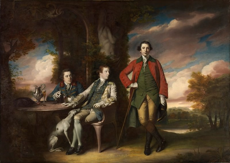 Sir Joshua Reynolds - The Honorable Henry Fane (1739–1802) with Inigo Jones and Charles Blair. Metropolitan Museum: part 4