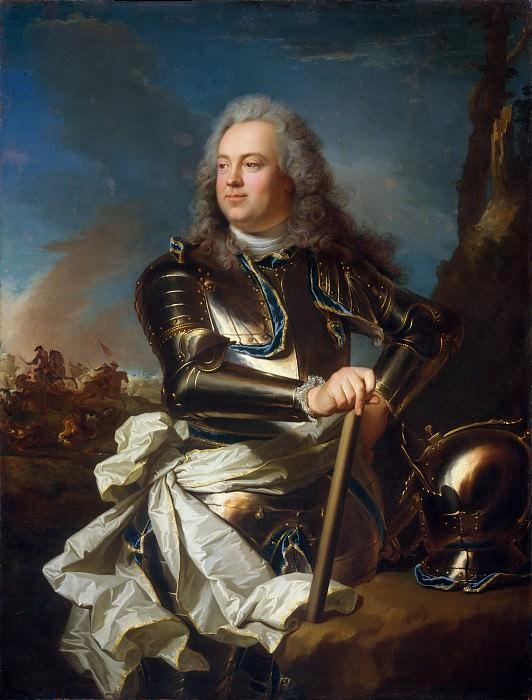 Hyacinthe Rigaud - Henri Louis de la Tour d'Auvergne (1679–1753), Comte d'Évreux, Maréchal de France. Metropolitan Museum: part 4