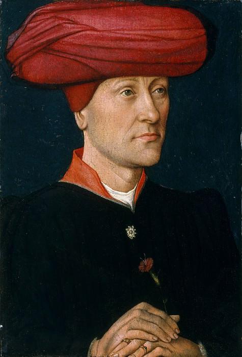 Netherlandish Painter, second quarter 15th century - Portrait of a Man in a Turban. Metropolitan Museum: part 4