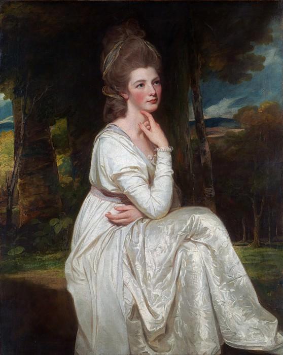 George Romney - Lady Elizabeth Stanley (1753–1797), Countess of Derby. Metropolitan Museum: part 4