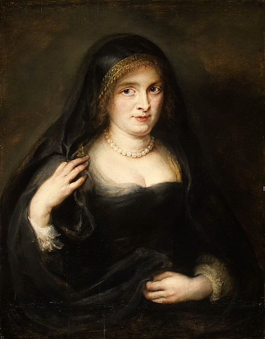 Portrait of a Woman, Probably Susanna Lunden. Peter Paul Rubens