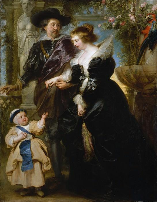 Rubens Rubens his wife Helena Fourment and their son Peter Paul. Peter Paul Rubens