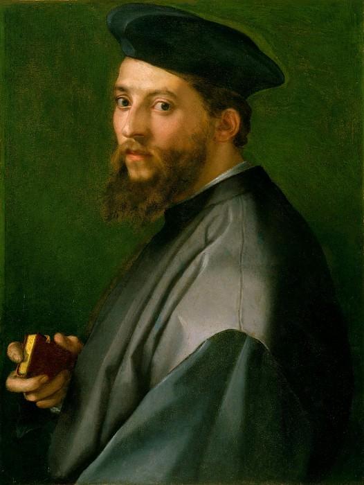 Андреа дель Сарто (Италия, Флоренция 1486-1530) - Портрет мужчины. Музей Метрополитен: часть 4