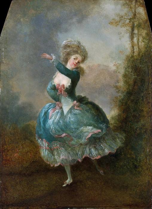 Jean Frédéric Schall - Dancer. Metropolitan Museum: part 4
