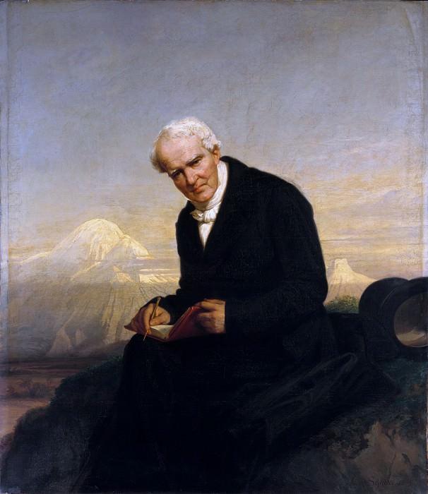 Юлий Шрейдер - Барон Александр фон Гумбольдт (1769-1859). Музей Метрополитен: часть 4