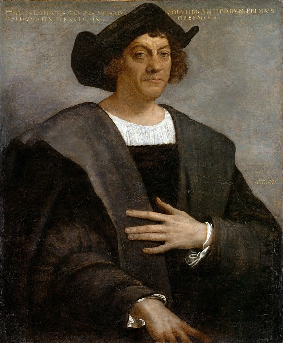 Sebastiano del Piombo (Italian, Venice (?) 1485/86–1547 Rome) - Portrait of a Man, Said to be Christopher Columbus (born about 1446, died 1506). Metropolitan Museum: part 4