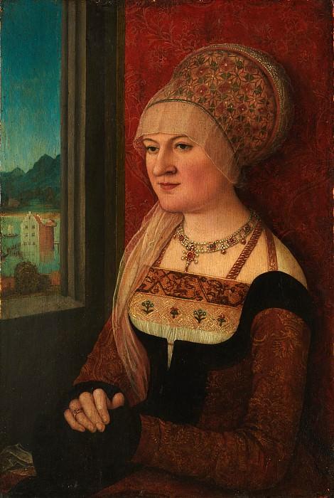 Bernhard Strigel - Portrait of a Woman. Metropolitan Museum: part 4