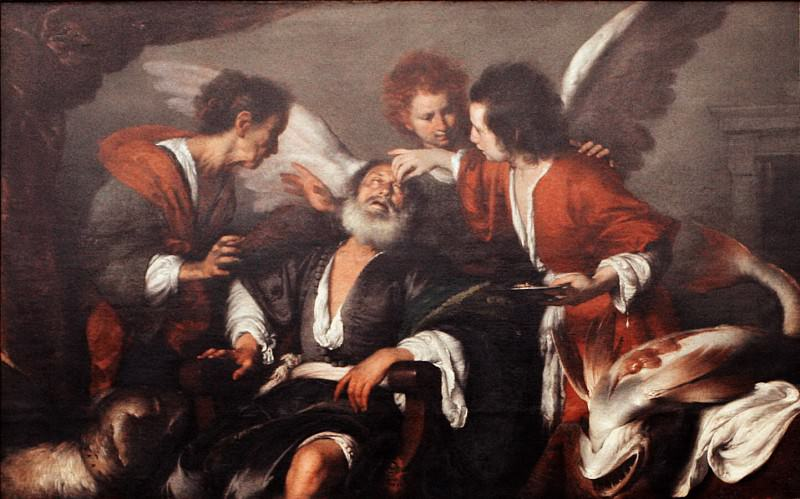 Bernardo Strozzi - Tobias Curing His Father's Blindness. Metropolitan Museum: part 4