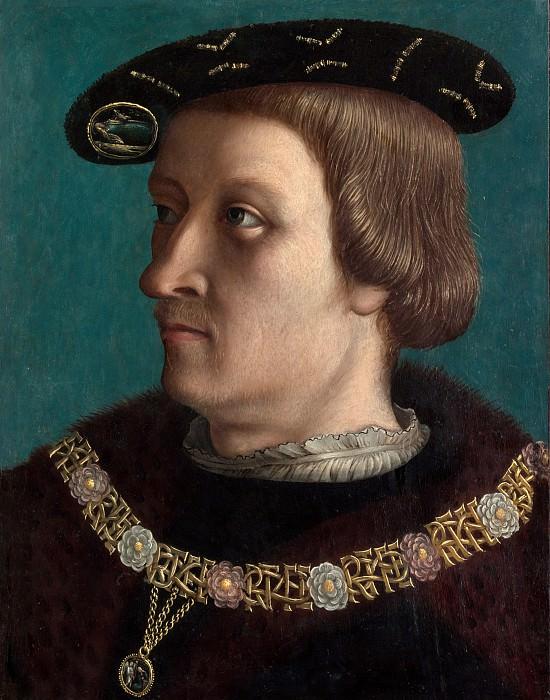 Швейцарский художник, первая четверть 16 века - Портрет мужчины с орденом Аннунциата Савойского. Музей Метрополитен: часть 4