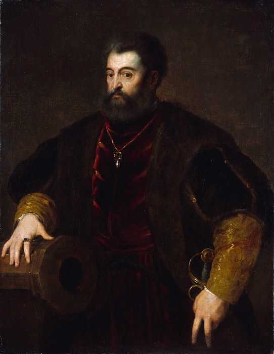 Copy after Titian - Alfonso d'Este (1486–1534), Duke of Ferrara. Metropolitan Museum: part 4