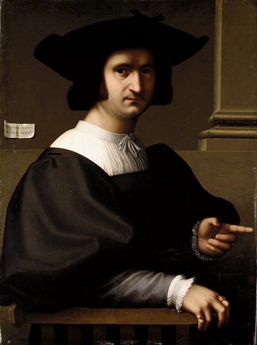 Tommaso Fiorentino (Italian, Florentine, ca. 1495–1564) - Portrait of a Man. Metropolitan Museum: part 4