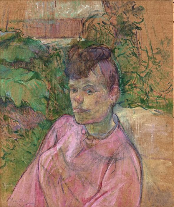Henri de Toulouse-Lautrec - Woman in the Garden of Monsieur Forest. Metropolitan Museum: part 4