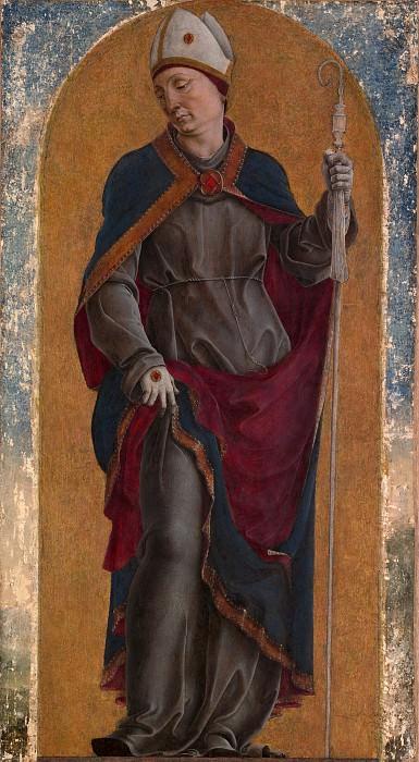 Cosmè Tura (Italian, Ferrara ca. 1433–1495 Ferrara) - Saint Louis of Toulouse. Metropolitan Museum: part 4