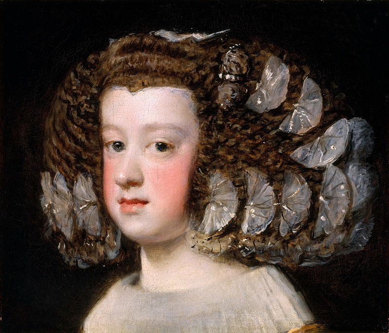 Velázquez (Spanish, Seville 1599–1660 Madrid) - María Teresa (1638–1683), Infanta of Spain. Metropolitan Museum: part 4