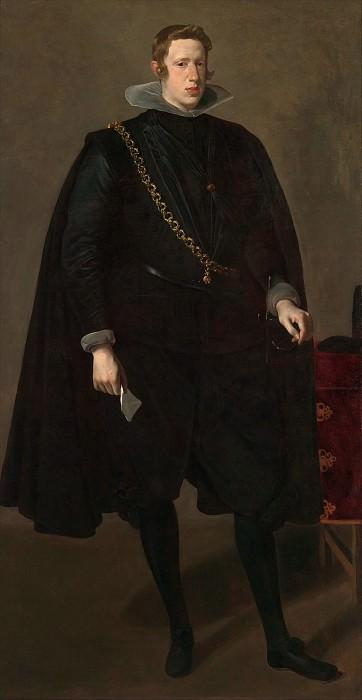 Веласкес (Испания, Севилья 1599-1660 Мадрид) - Филипп IV (1605-1665), король Испании. Музей Метрополитен: часть 4