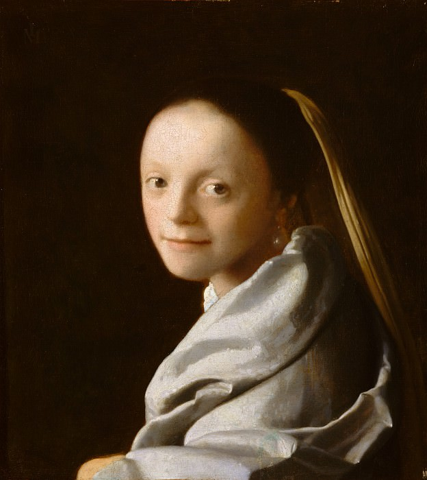 Johannes Vermeer - Study of a Young Woman. Metropolitan Museum: part 4