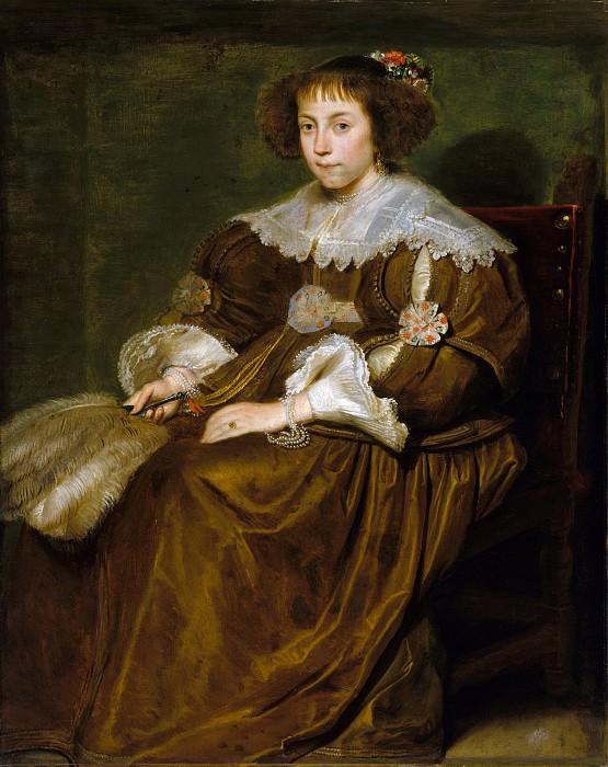 Корнелис де Вос - Портрет молодой женщины. Музей Метрополитен: часть 4