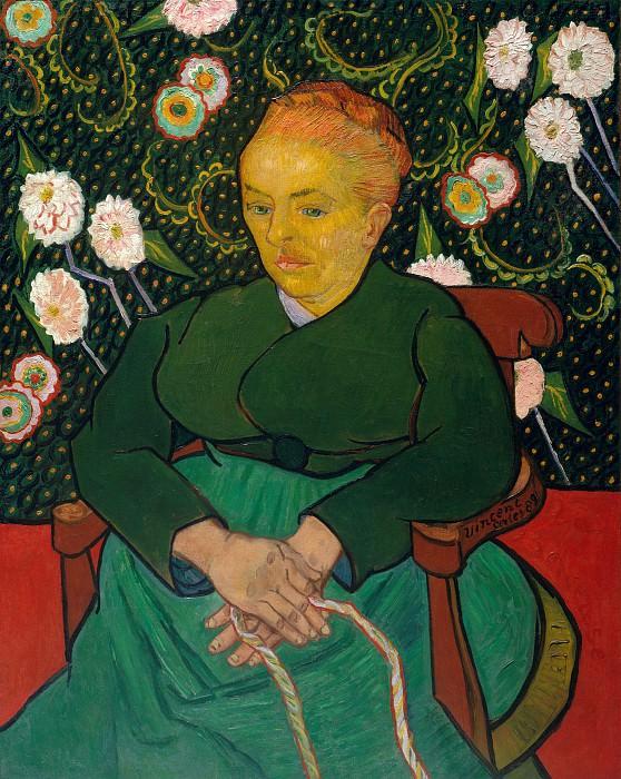 Колыбельная (Женщина качающая колыбель, Августина-Аликс Пелликот Рулен, 1851-1930). Винсент Ван Гог
