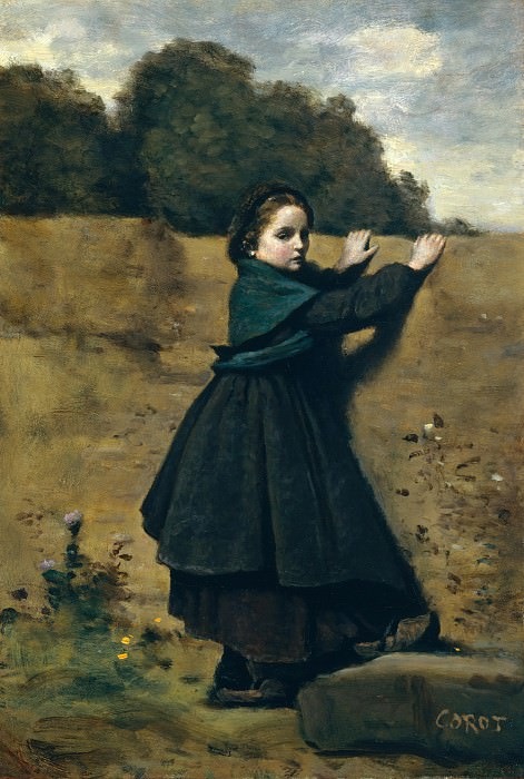 Camille Corot - The Curious Little Girl. Metropolitan Museum: part 4