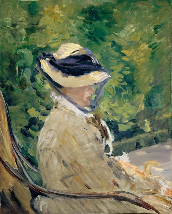 Madame Manet at Bellevue. Édouard Manet