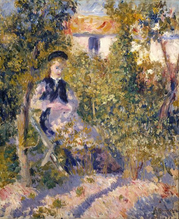 Auguste Renoir - Nini in the Garden (Nini Lopez). Metropolitan Museum: part 4
