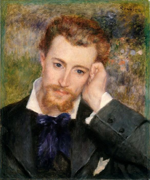 Огюст Ренуар - Эжен Мурер (Гиацинт-Эжен Менье, 1841-1906). Музей Метрополитен: часть 4