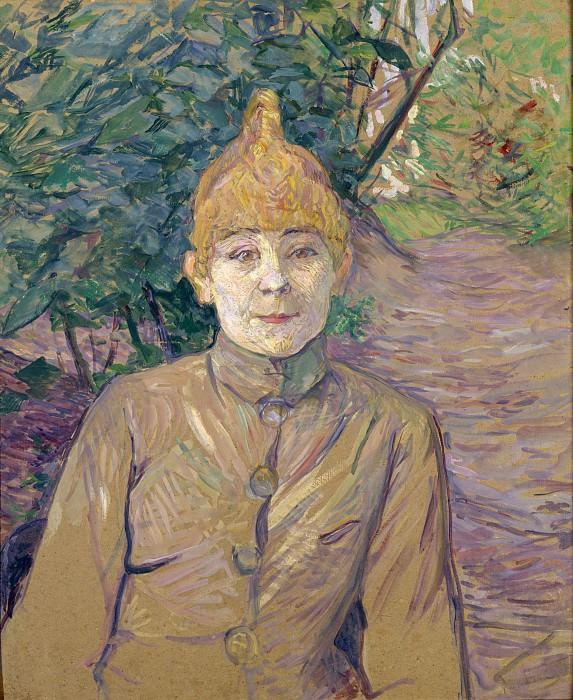 Henri de Toulouse-Lautrec - The Streetwalker. Metropolitan Museum: part 4